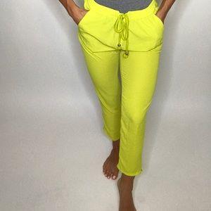Neon green H&M Casual Wear Pants